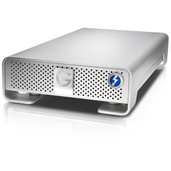 G-DRIVE Thunderbolt USB 3.0 10000GB Silver JP 0G05027