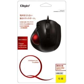 MUS-TULF139GBK マウス Digio2 グロスブラック [レーザー /5ボタン /USB /有線]