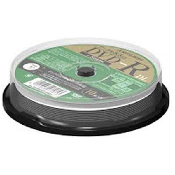 DHR85HP10SD1 データ用DVD-R [10枚 /8.5GB /インクジェットプリンター対応]