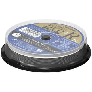 DTR85HP10SD1 データ用DVD+R [10枚 /8.5GB /インクジェットプリンター対応]