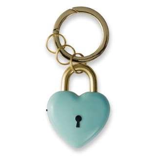 プリンセス防犯ブザーハートの鍵ミント GE078B (ミントブルー)