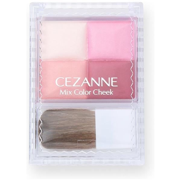セザンヌ化粧品 CEZANNE セザンヌ ミックスカラーチーク 04 ローズ系 セザンヌ化粧品