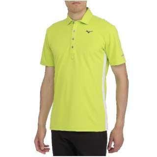 f74c466d0 Men's golf polo shirt high mud silver titanium shirt (large size / lime  green) 52MA8020
