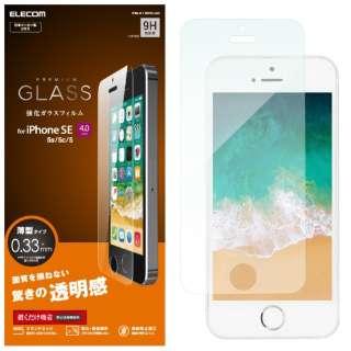 iPhone SE(第1世代)4インチ/5s/5 ガラスフィルム