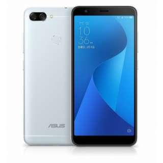 Zenfone Max Plus M1 アズールシルバー 「ZB570TL-SL32S4」 5.7型・メモリ/ストレージ:4GB/32GB nanoSIMx2 SIMフリースマートフォン アズールシルバー