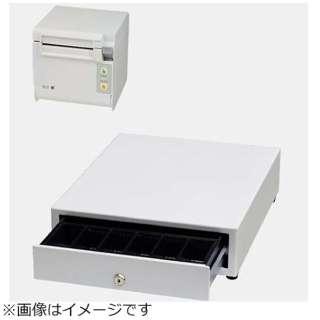 AirレジAセット(白) レシートプリンター RP-D10-W27J2-B/キャッシュドロア DRW-A01-W