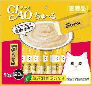 チャオ ちゅ〜る まぐろ ほたてミックス味 14gx20本