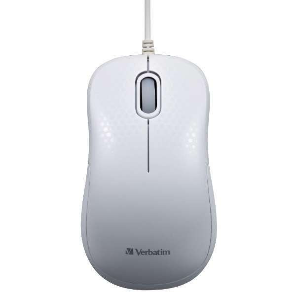 MUSYSWV3 マウス ホワイト [光学式 /3ボタン /USB /有線]