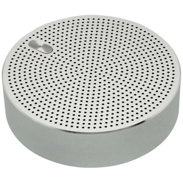 OWL-BTSP03-SI ブルートゥース スピーカー シルバー [Bluetooth対応]