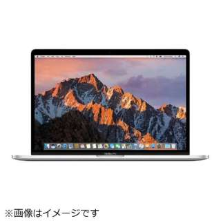 MacBookPro 15インチ Retina Displayモデル [Core i7(2.7GHz)/16GB/SSD:512GB/Touch Bar/USキーボード] (2016) MLW82J/AA シルバー