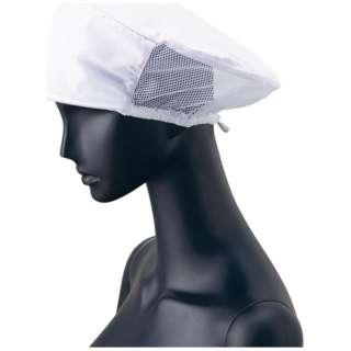 ツバ付婦人帽子メッシュ付 G-5004 (ホワイト) <SBU07>