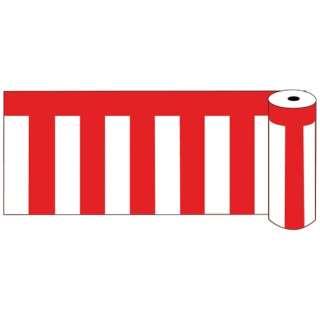 ビニール紅白幕 ロール75 <YKU0203>