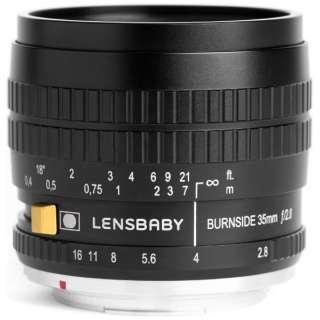カメラレンズ Burnside35(バーンサイド35) ブラック [キヤノンEF /単焦点レンズ]