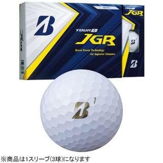 【スリーブ単位販売になります】ゴルフボール JGR《1スリーブ(3球)/パールホワイト》 8JGX 【オウンネーム非対応】