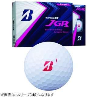 【スリーブ単位販売になります】ゴルフボール JGR《1スリーブ(3球)/パールピンク》 8JPX 【オウンネーム非対応】
