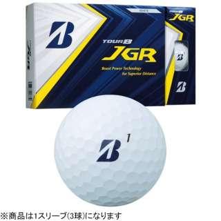 【スリーブ単位販売になります】ゴルフボール JGR《1スリーブ(3球)/ホワイト》 8JWX 【オウンネーム非対応】