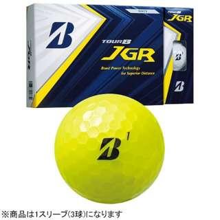 【スリーブ単位販売になります】ゴルフボール JGR《1スリーブ(3球)/イエロー》 8JYX 【オウンネーム非対応】