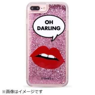 iPhone 8/7 Plus TPU Liquid Oh Darling 14466 ピンク