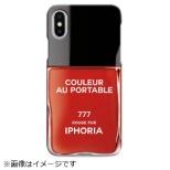 iPhone X TPUケース Nailpolish Vernis Rouge 14834 レッド
