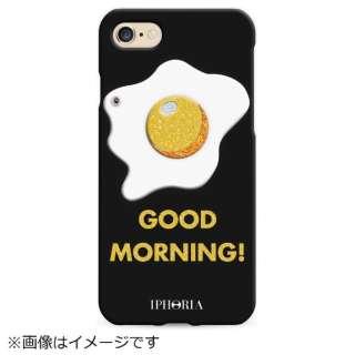 iPhone SE(第2世代)/7/8 対応 TPU Good Morning Glitter 14943 ブラック