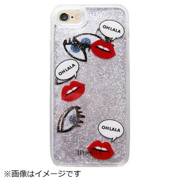 iPhone SE(第2世代)/7/8 対応 TPU Liquid IphoriaIcons 14950 シルバー