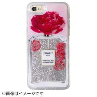 iPhone SE(第2世代)/7/8 対応 TPU Liquid Perfume Flower Pink 14952 ピンク