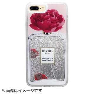 iPhone 8/7 Plus TPU Liquid Perfume Flower 14953 ピンク