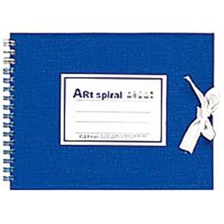[スケッチブック]アートスパイラル F0 ブルー S310-02