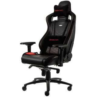 NBL-PU-RED-003 ゲーミングチェア noblechairs EPIC(ノーブルチェアーズ エピック) レッド