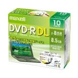 DRD85WPE.10S データ用DVD-R ホワイト [10枚 /8.5GB /インクジェットプリンター対応]
