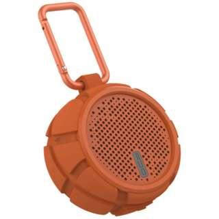 QCY-BOX2OR ブルートゥース スピーカー オレンジ [Bluetooth対応 /防水]