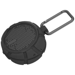 QCY-BOX2BK ブルートゥース スピーカー ブラック [Bluetooth対応 /防水]