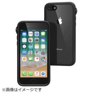iPhone 8 衝撃吸収ケース ブラック CT-IPIP174-BK