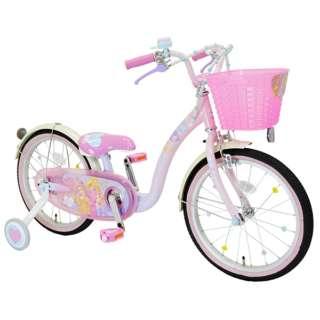 18型 幼児用自転車 プリンセスゆめカワ(プリンセスデザイン/ピンク)