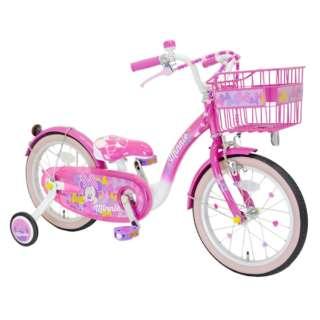 16型 幼児用自転車 Poppin' Ribbon(ミニーマウスデザイン/ピンク)