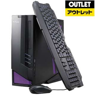 【アウトレット品】 LGI777M1S4H3X17DW10 ゲーミングデスクトップパソコン [モニター無し /intel Core i7 /メモリ:16GB /HDD:3TB /SSD:480GB] 【生産完了品】