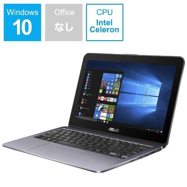 Vivo Book Flip12 ノートパソコン スターグレー TP203NA-GREY [11.6型 /intel Celeron /eMMC:64GB /メモリ:4GB /2018年3月モデル]