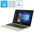 Vivo Book Flip12 ノートパソコン シマリングゴールド TP203NA-GOLD [11.6型 /intel Celeron /eMMC:64GB /メモリ:4GB /2018年3月モデル]