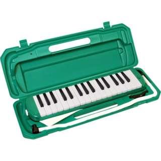 鍵盤ハーモニカ P3001-32K/GR グリーン