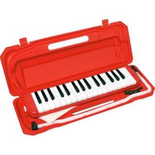 鍵盤ハーモニカ P3001-32K/RD レッド