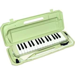 鍵盤ハーモニカ P3001-32K/UGR ライトグリーン
