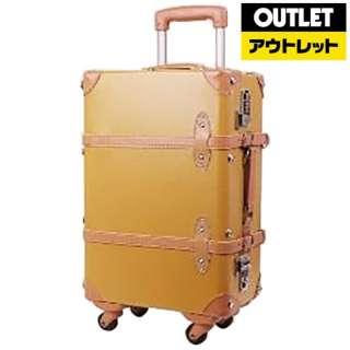 【アウトレット品】 スーツケース 四輪トランクキャリー 35L キャメル A7002-53-CA 【数量限定品】