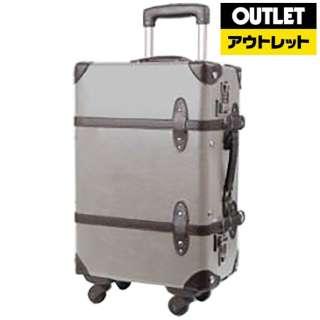 【アウトレット品】 スーツケース 四輪トランクキャリー 35L グレー A7002-53-GY 【数量限定品】