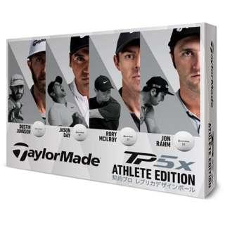 【数量限定発売】ゴルフボール TP5x ATHLETE EDITION《1ダース(12球)/ホワイト》 【オウンネーム非対応】
