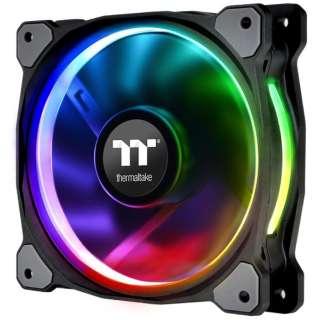 ケースファン[120mm / 500~1500RPM] Riing Plus 12 RGB Radiator Fan TT Premium Edition Single Pack(ファン増設用) CL-F059-PL12SW-A RGB LED