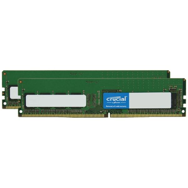 増設メモリ デスクトップ用 CFD Selection DDR4-2666 288pin DIMM 8GB×2枚組 W4U2666CM-8G [DIMM DDR4 /8GB /2枚]