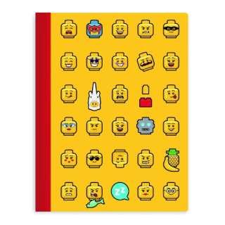 [ノート] LEGO Iconic ノートブック 37543 イエロー