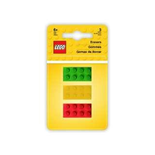 [消しゴム] LEGO Iconic ブリックイレイザー(3個) 37537