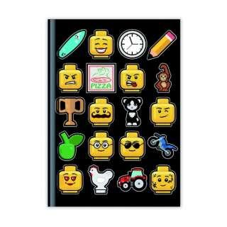 [ノート] LEGO Iconic ノート 37541 ブラック
