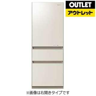 【アウトレット品】 冷蔵庫 [3ドア /左開きタイプ /315L] NR-C32FGML-N  クリアシャンパン 【生産完了品】